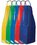 Picture of APRONS PVC HEAVY - ASSORTED COLOURS