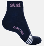 Picture of BOVA SISI LADIES SOX, 80% COTTON, NAVY
