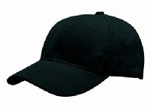 Picture of CAPS 6 PANEL *BLACK