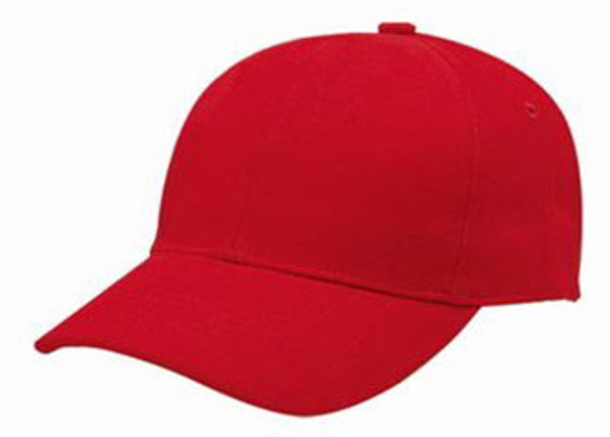 Picture of CAPS 6 PANEL *RED
