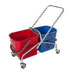 Picture of CHINESE DOUBLE TROLLEY-NO BUCKETS