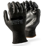 Picture of GLOVE INSPECTOR Black PU palm coated