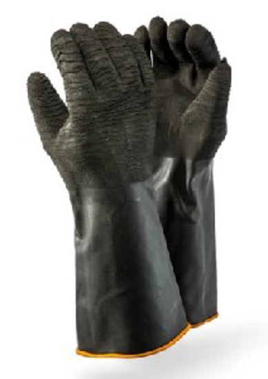 Picture of GLOVE RUBBER IND Rough Palm, Elbow 40cm   *L