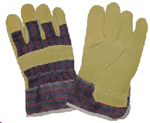 Picture of GLOVE Pigsplit Candy, safety cuff *