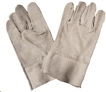 "Picture of GLOVE CHROME LEATHER double palm, 2"""" *ECONO"