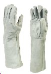 "Picture of GLOVE CHROME LEATHER double palm, 8"" *ECONO"