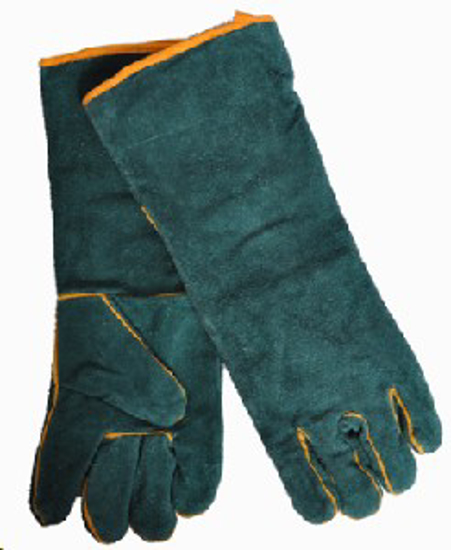 "Picture of GLOVE GREEN WELDERS Econo 8"""" inch"