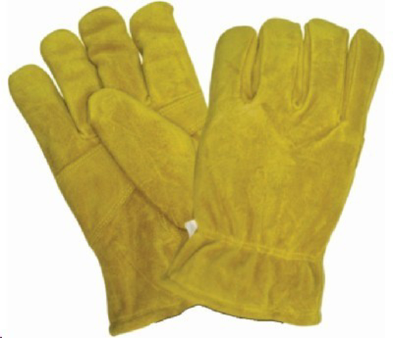 Picture of GLOVE YELLOW Leather Freezer  (with sock lining)