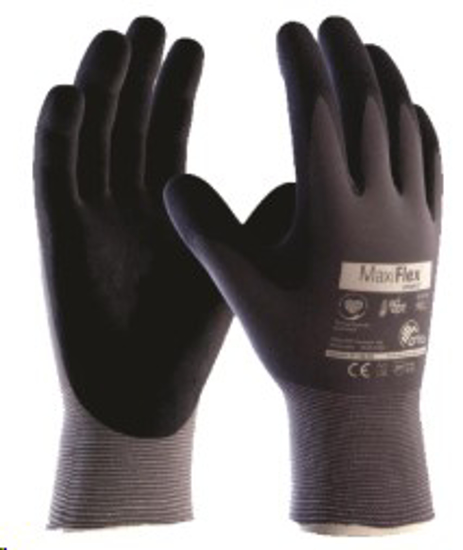 Picture of GLOVE Maxiflex Ult Ad-Apt Open Back - BLK