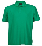 Picture of PIQUE KNIT GOLFER MENS EMERALD 175G