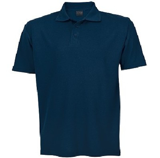 Picture of PIQUE KNIT GOLFER MENS NAVY 175G