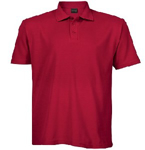 Picture of PIQUE KNIT GOLFER MENS RED 175G