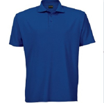 Picture of PIQUE KNIT GOLFER MENS ROYAL 175G