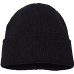 Picture of BEANIE KNITTED *BLACK