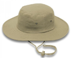 Picture of HATS CRICKET DRAWSTRING KHAKI *S/M 57CM