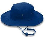 Picture of HATS CRICKET DRAWSTRING NAVY *S/M 57CM