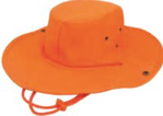 Picture of HATS CRICKET DRAWSTRING ORANGE *L/XL 60CM