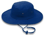 Picture of HATS CRICKET DRAWSTRING ROYAL *L/XL 60CM