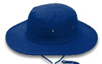Picture of HATS CRICKET DRAWSTRING ROYAL *S/M 57CM