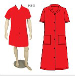 Picture of CANTEEN LADIES RED 65/35