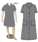 Picture of CANTEEN LADIES GREY 65/35