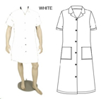 Picture of CANTEEN LADIES WHITE 65/35