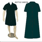 Picture of CANTEEN LADIES BOT GREEN 65/35