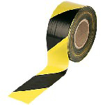 Picture of DANGER TAPE YELLOW/BLACK 75MMX500M
