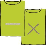 Picture of Reflective MAXI BIB DAY-GLOW LIME