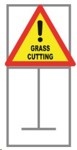 Picture of ROADSIGN GRASS CUTTING COMPLETE *900x900