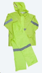 Picture of RAINSUITS RUBBERIZED LIME REFLECTIVE