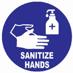 Picture of SIGN-SANITIZE HANDS *190