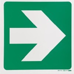 Picture of SIGN-GREEN ARROW *190