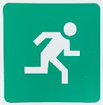 Picture of SIGN-ESCAPE ROUTE RIGHT *190