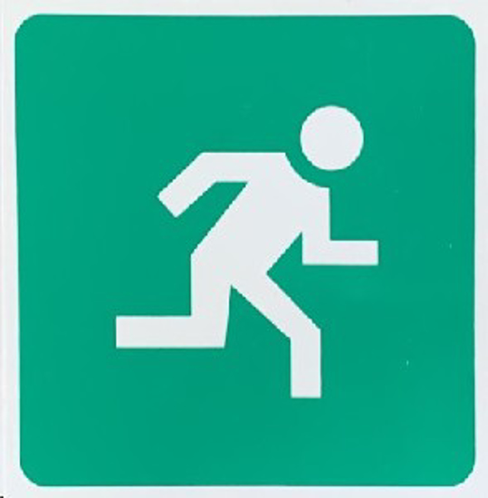 Picture of SIGN-ESCAPE ROUTE RIGHT *290
