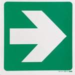 Picture of SIGN-GREEN ARROW *290