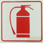 Picture of SIGN-FIRE EXTINGUISHER *190