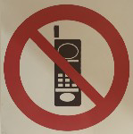 Picture of SIGN-NO CELLPHONES *190