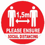 Picture of SIGN-SOCIAL DISTANCING *190