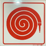 Picture of SIGN-FIRE HOSE *290
