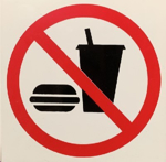 Picture of SIGN-NO EATING OR DRINKING *290