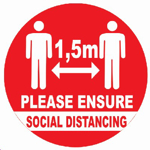 Picture of SIGN-SOCIAL DISTANCING *290