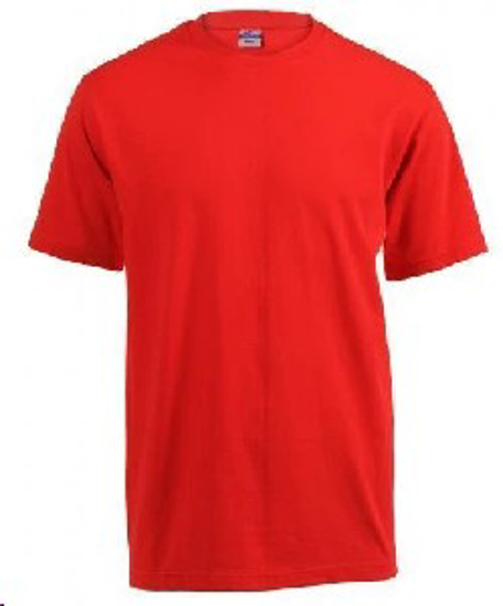 Picture of T-SHIRT RED 180G
