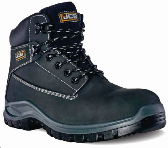 Picture of JCB HOLTON BLACK NUBUCK BOOT