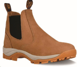 Picture of JCB CHELSEA TAN NUBUCK NSTC BOOT