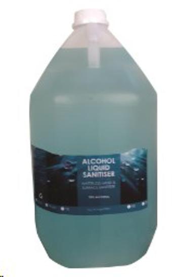 Picture of HAND SANITISER ALCOHOL BASED GEL *5L