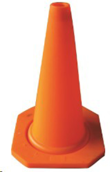 Picture of TRAFFIC CONES ECONO RUBBER *450MM