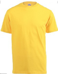 Picture of T-SHIRT YELLOW 180G