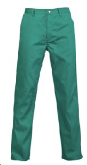 Picture of JONSSON WORK TROUSERS EMERALD 65/35