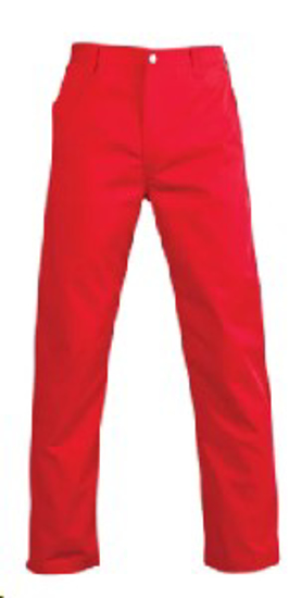 Picture of JONSSON WORK TROUSERS RED 65/35